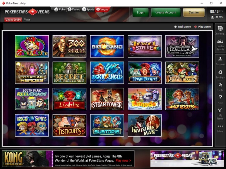 pokerstars online casino app