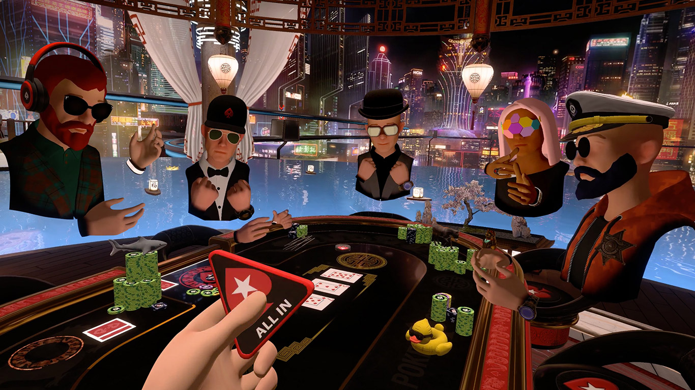 PokerStars has launched yet another new innovative poker game called PokerStars VR. PokerStars VR is a free-to-play, immersive social virtual reality poker game that aims to bring together the elements of live and online poker.