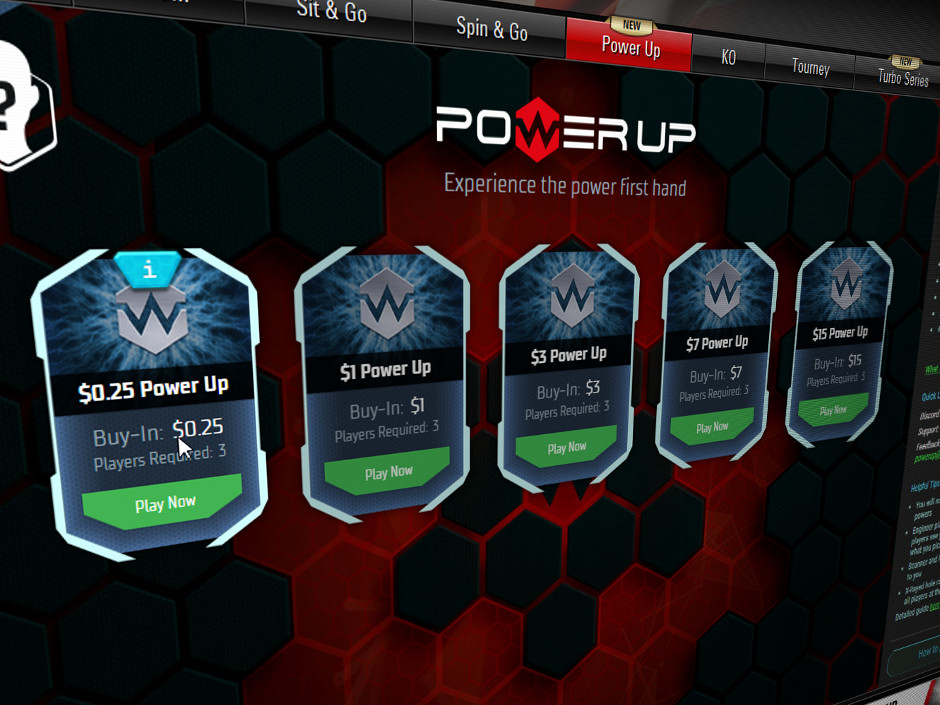 Power Up, a new game variant that takes elements from Spin & Gos and blends them with e-sports games, is expanding so that a wider range of buy-in levels are…