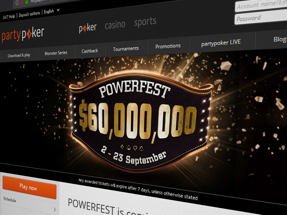 After three weeks of action, partypoker's Powerfest has finally come to an end and it ended in high as over $6.8 million was awarded on the last day alone.