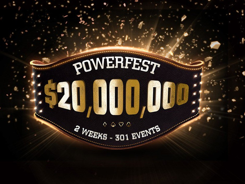 Partypoker has revealed details of its next Powerfest tournament series, with $20 million in guaranteed prizes across 301 events.