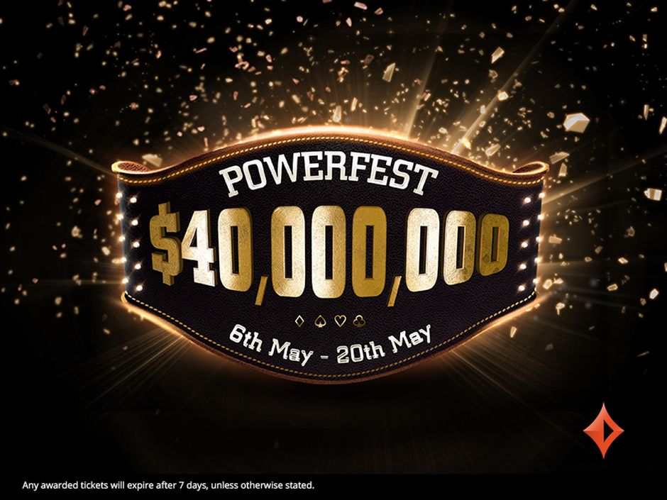 It is the biggest guaranteed prize pool partypoker has ever run and puts Powerfest on near-equal footing to PokerStars' flagship annual tournament series, SCOOP.