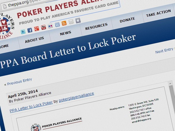 The Poker Players Alliance has sent an open letter to Lock Poker demanding an explanation for its inability to pay players