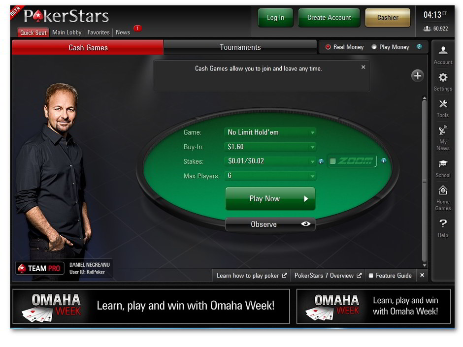 The PokerStars 7 Beta upgrade has now been officially released for dot-COM customers making it available in most markets served by the worldwide leader in online poker.