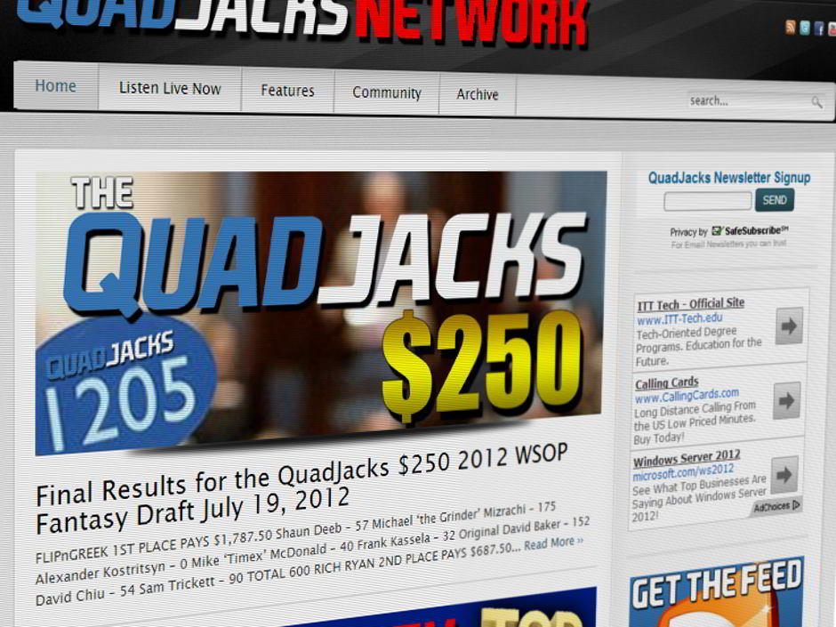 After just four months in his role at the GPI, Marco returns to Quadjacks.