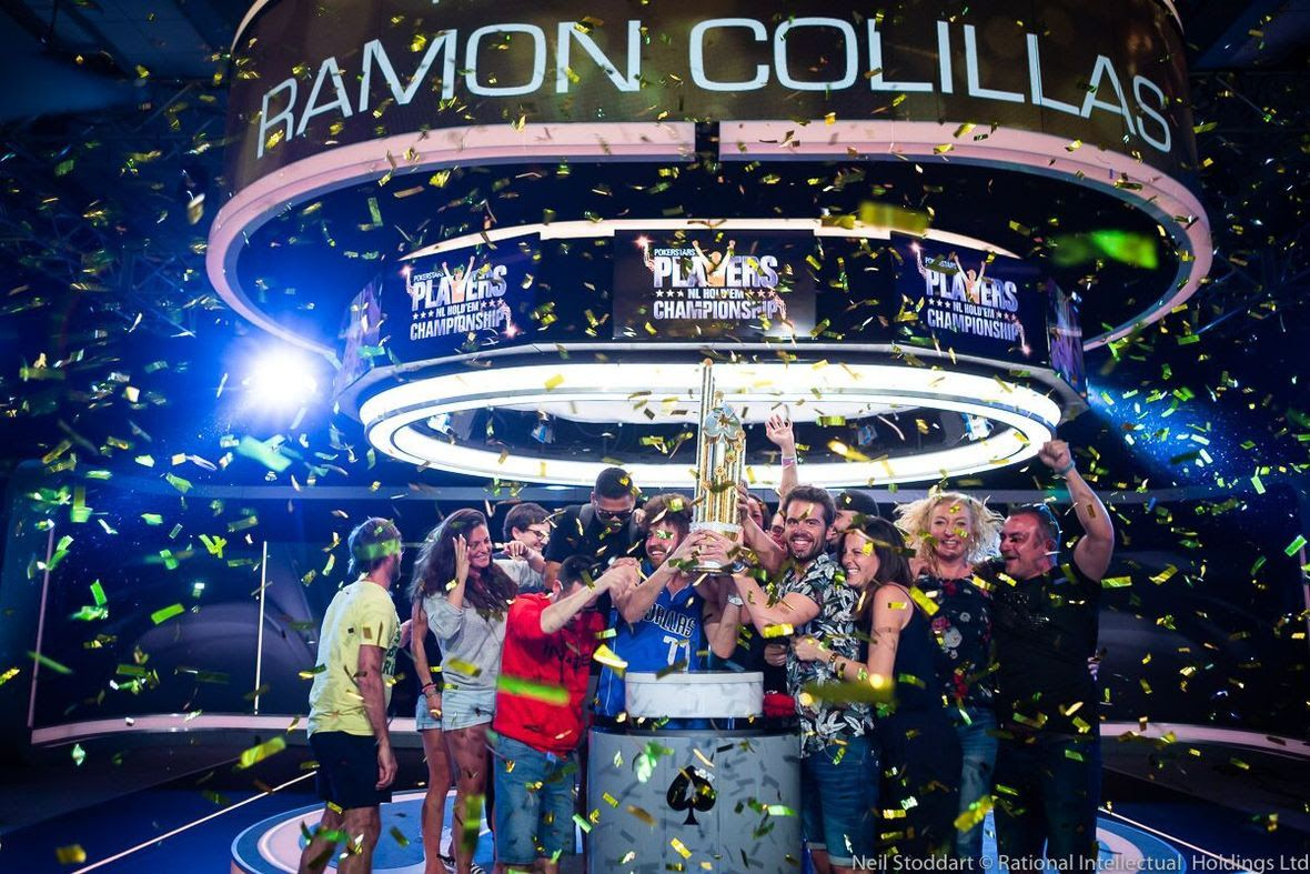On Thursday, Ramon Colillas from Spain took down the PokerStars Players No Limit Hold'em Championship (PSPC) for $5.1 million dollars, beating a field of 1039…