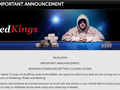 Existing RedKings Poker players are being funneled to fellow MPN skin Bestsafe. Along with the shuttering of its poker room, RedKings is also closing down its sports betting platform.