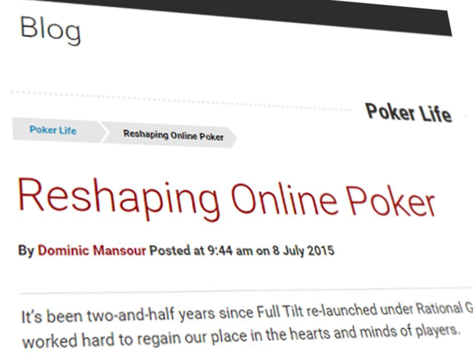 Online poker md