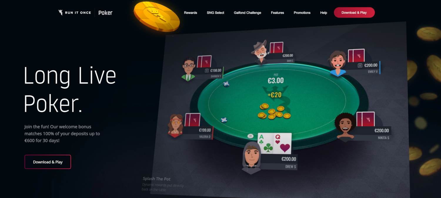 Run It Once Poker in 2020: Innovation, Promotions and Growth