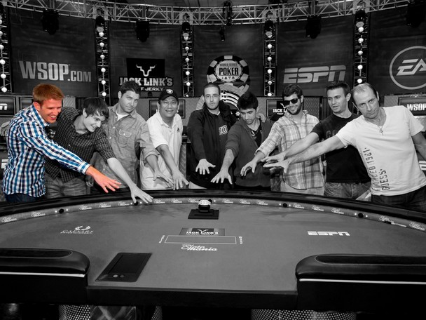 2012 World Series of Poker Main Event Final Table member Russell Thomas