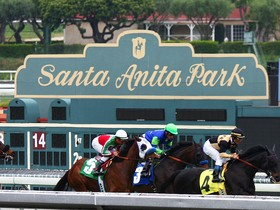 This week we move to the warm ocean breezes of Santa Anita for the G2 $200,000 San Gabriel Stakes.  The race will be contested by 10 older horses at 1-1/8…