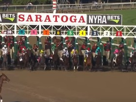 The 147th running of the Travers Stakes at Saratoga shaped up to be a jockey's race.  Early position and pace would dictate who had a shot to share in the $1…