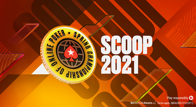 PokerStars Announces $100 Million Guaranteed SCOOP 2021 in April