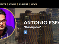 Coming Up: Live Chat & Interview with Antonio Esfandiari