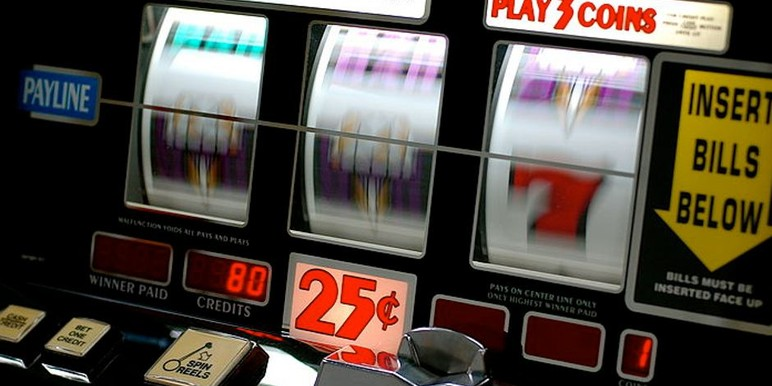 odds of winning on a slot machine