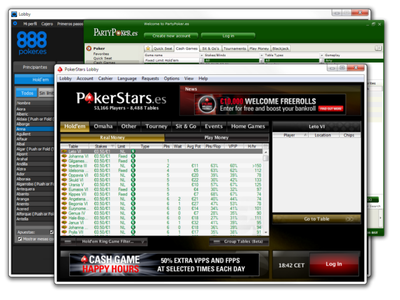 Spanish poker sites