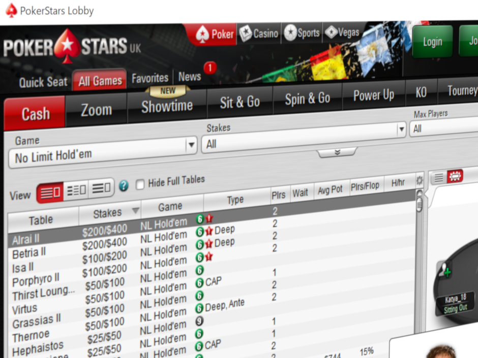 PokerStars, the worldwide leader in online poker, has announced plans to reduce multi-tabling of regular cash games on its platform to six tables. A test phase…