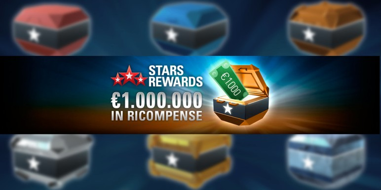 "During the promotional period, random ""chests""--the promotional vehicle in the new loyalty program--will have €1000 in extra prizes."