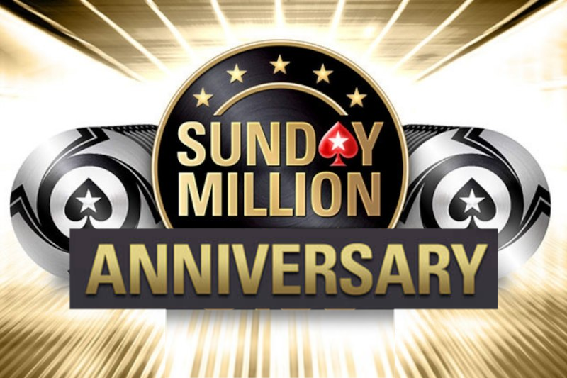 The world's leading online poker site, PokerStars, is gearing up for an anniversary edition of its flagship tournament,  the Sunday Million.