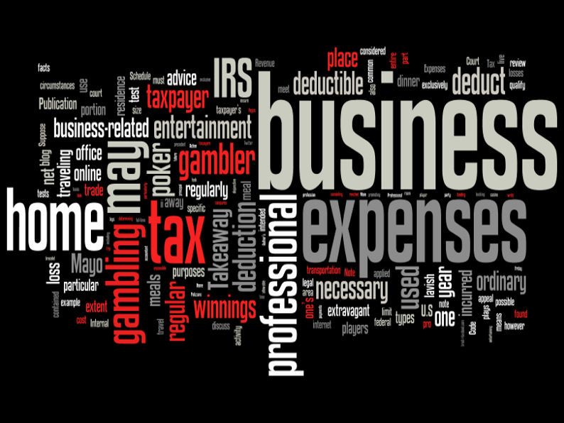 Today we review the extent a professional gambler may deduct business expenses and the rules governing some common types of business deductions.