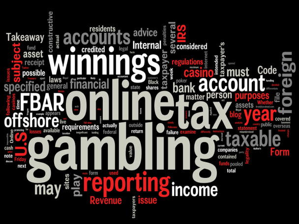 Online gambling winnings tax casino sl-1000tv manual