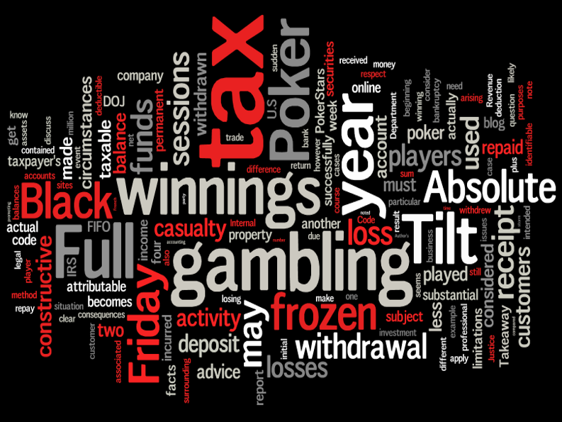 Taxation of Gambling: US Tax Implications of Black Friday