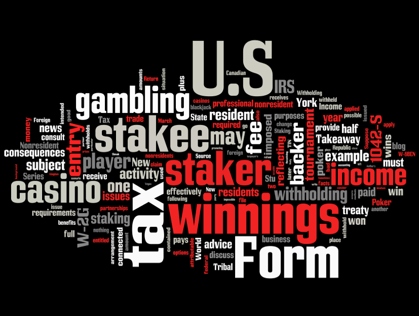 Taxation Of Gambling Tax Implications Of Staking Activity Pokerfuse