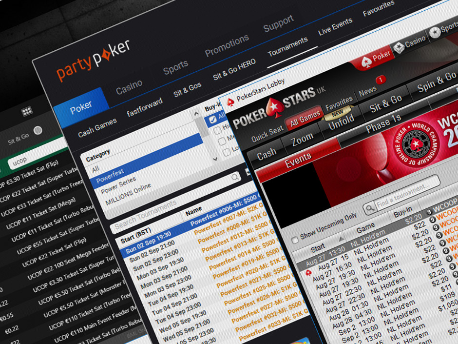 WCOOP, Powerfest and UCOP will be their largest to date. Galactic Series and Winamax Series go head-to-head in Europe.