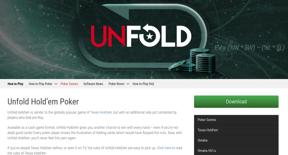 PokerStars may not want to comment on their potential new game variant which we unfolded earlier this week, however, being eagle-eyed, we were quick enough to…