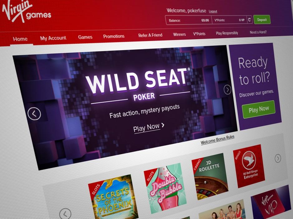 Virgin media games login