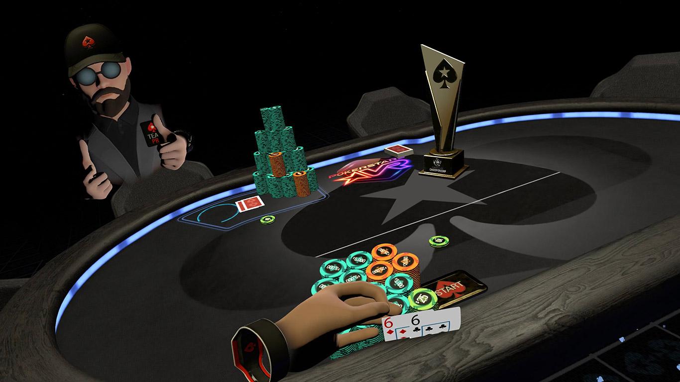 PokerStars VR: Online Poker Room Unveils Virtual Reality