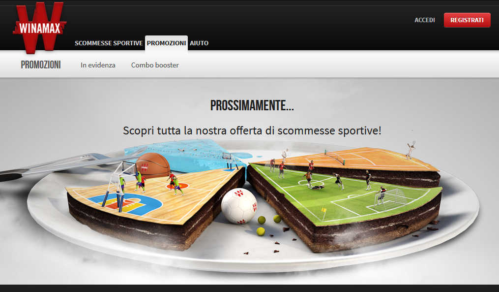 "Winamax appears to be preparing an Italian regulated online gambling market launch. Winamax.IT domain, an Italian-language landing page, has been recently created that states ""Coming Soon."""