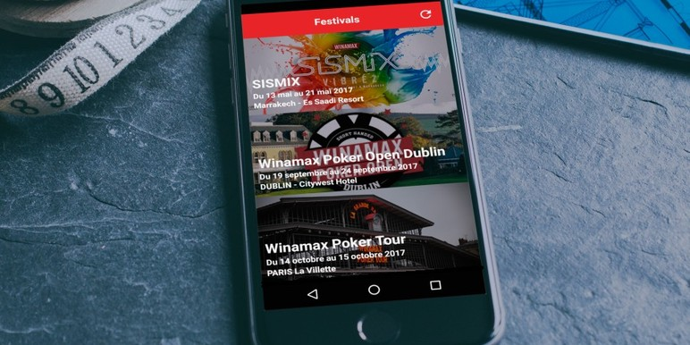 Leading French online poker operator Winamax has announced Winamax Live, a new mobile app that provides up-to-date information on its live event schedule. The…