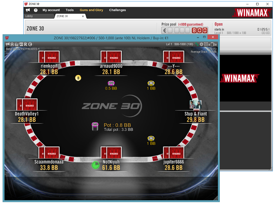 Winamax S Latest Innovation The Timeless Zone 30 Tournament