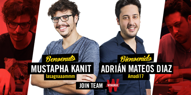 The signing of two stars--Kanit and Mateos are two of the biggest winning and most recognizable live poker players in their home countries of Italy and Spain respectively--shows just how serious Winamax is in pushing into these new markets.