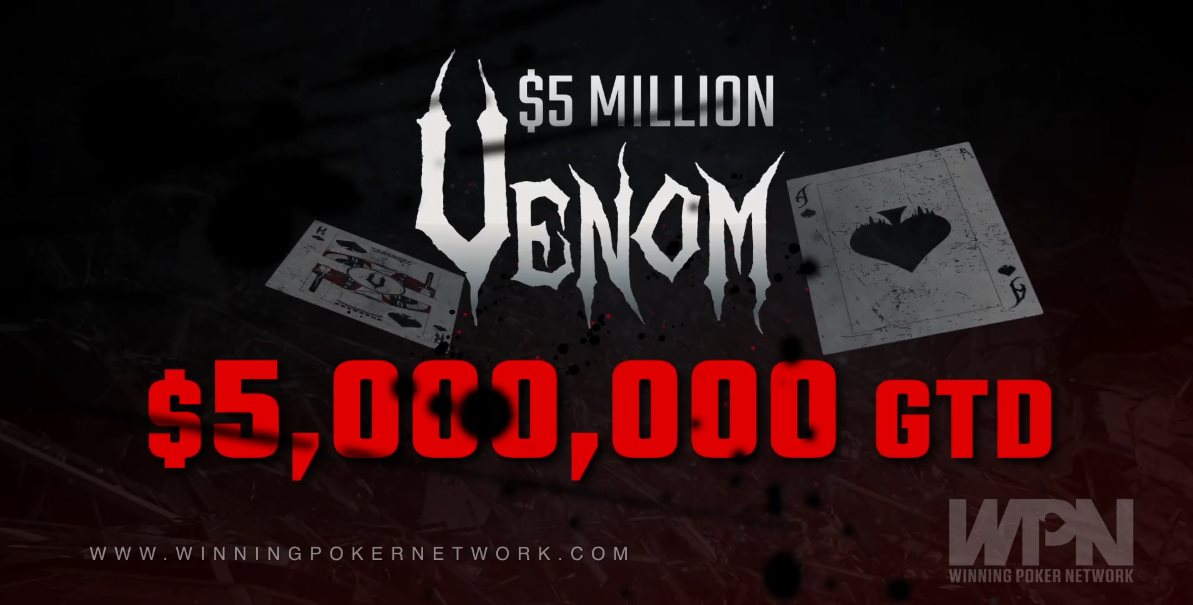 The Venom was the biggest online poker tournament to be hosted by US-facing site since Black Friday.