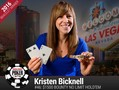 29 year old Canadian, Kristen Bicknell took down Event #46: $1500 BOUNTY No-Limit Hold'em becoming the first women to win an event at this year's…
