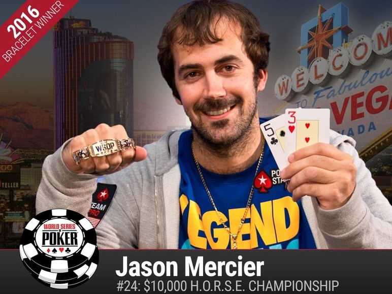 The big news from the weekend's action over at the World Series of Poker is that PokerStars Pro Jason Mercier won his second gold bracelet of the 2016…