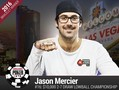Jason Mercier became one very happy man yesterday as he took down event #16: $10,000 2-7 Draw Lowball Championship (No-Limit)  for the fourth WSOP title of his…
