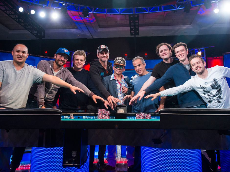 Only Five Remain in the 2016 World Series of Poker Main Event