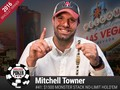 Two more World Series of Poker winners were crowned yesterday as Mitchell Towner took down Event #41: $1500 MONSTER Stack No-Limit Hold'em and Loren…