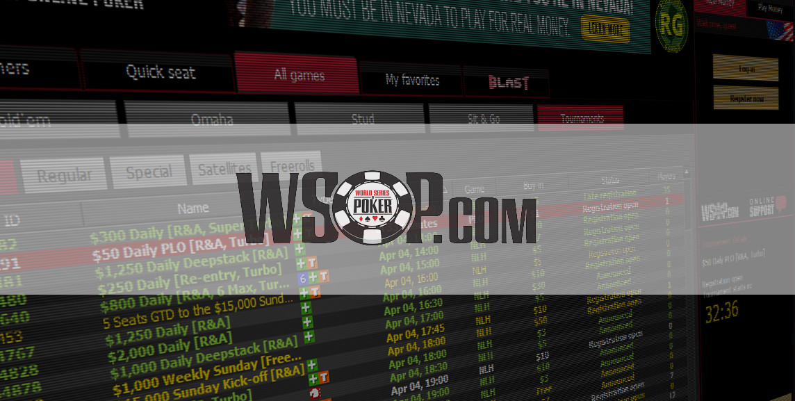 WSOP Online Bracelet Events to Return in July Ahead of the Live Series