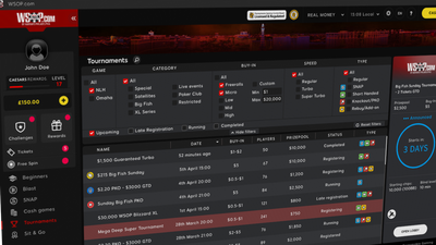 WSOP PA Open for Business with Depositor's Freeroll to a $10,000 Main Event Seat