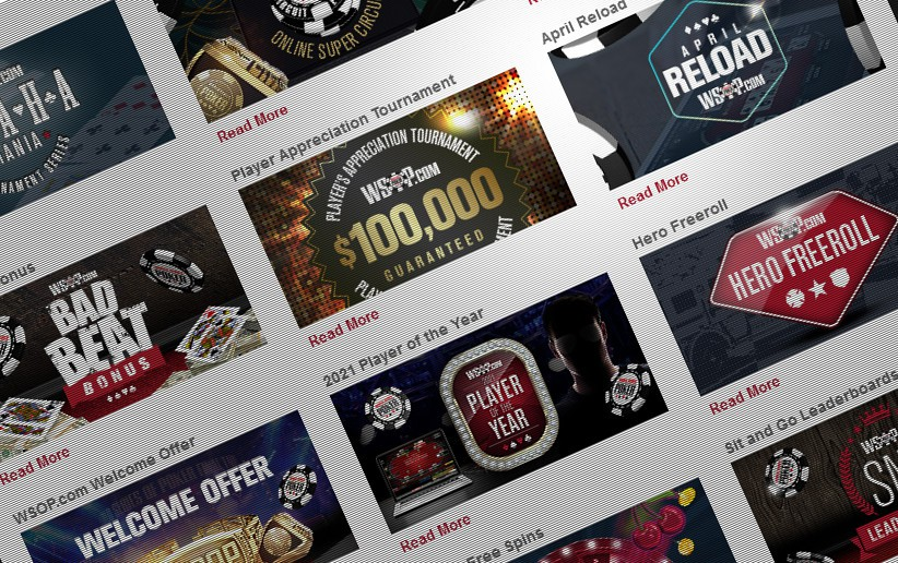 WSOP Spreads Another Big Month of Promotions for Online Poker Players in New Jersey, Nevada