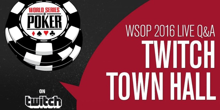 The public is invited to join executives from the World Series of Poker on Thursday May 19 for a Town Hall video conference hosted on the social media platform…