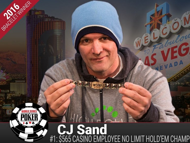 event #1 $565 casino employees no-limit holdem